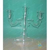 Quality CH (31) small clear Acrylic candle holder wholesale