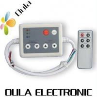 Quality 8A Aluminum RF LED Lighting Controllers With 6 Key Plastic Cover, LPD6803 Chip Support wholesale