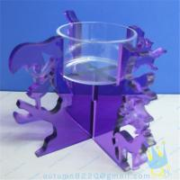 Quality CH (19) Acrylic goblet candle holder wholesale