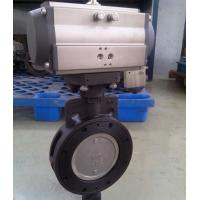 DA-125 Fluitech Gray Pneumatic Rotary Actuator Double Acting For Chemical Industry