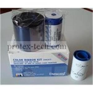China Original Datacard YMCKO plastic card printer ribbon 552854-504 on sale