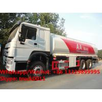 Quality HOT SALE!high quality and bottom price SINO TRUK HOWO 20,000Liters bulk oil tank truck/ diesel tank delivery truck wholesale