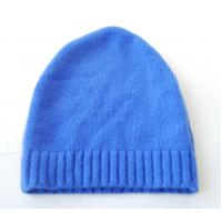 Quality Autumn Warm Merino Wool Cashmere Hat , Adults Women Knitted Crochet Rib Hat wholesale
