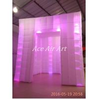 Cheap Ace Air Art new style white fabric led lighting giggles and laugh inflatable for sale