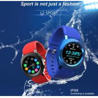 China L2 Smart Watch L2 Android IOS Mobile Smart Watch IP68 Waterproof Blue tooth Smart Bracelet on sale