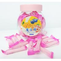 Quality Pink Magic Stick Healthy Hard Candy , 4g Strawberry Hard Candy wholesale