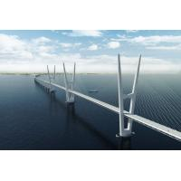 Buy cheap Steel Structure Cable Stay Bridges , Compact Cantilever Truss Bridge from wholesalers