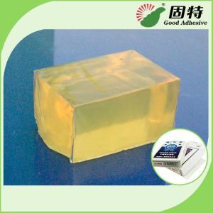 China Poker Box Hot Melt Pressure Sensitive Adhesives Glue For Box , Block Shaped on sale