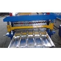 Quality Double Layer Roofing Metal Sheet Roll Forming Machine For PPGI / PPGL / GI / Aluminium wholesale