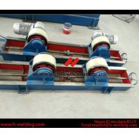 Cheap Conventional 10 Ton Tank Welding Rotators for Boiler Industry , PU Roller Turning Rolls for sale