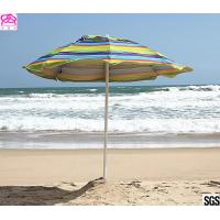 Quality SNAIL 6ft Folded Sun Beach Umbrella with Tilt Portable Silver Coating Inside UV Protection Stripe wholesale