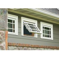 Quality Sound Proof Aluminium Awning Double Glazed Windows Black / White / Green wholesale