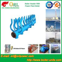 Quality High Temperature Boiler Header Manifolds with Boiler Manifold Piping wholesale