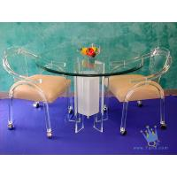 Quality FU (68) acrylic counter height dining set wholesale