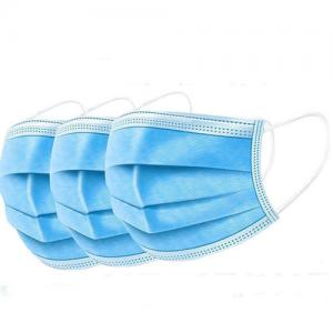 China 3 Ply Non-Woven Dental Clinic Surgical Face Mask Earloop Medical Non Woven Disposable Face Masks on sale