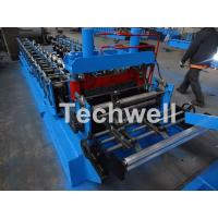 Quality 0.8-1.5mm Thickness Cold Roll Forming Machine For Making Traverse Machine With Motor 11KW wholesale