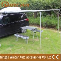 Quality Car Rain Tent and Awning 280G Canvas 2 x 2.5m Instant Setup Wing Side wholesale
