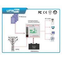 China Pure Sine Wave Hybrid Solar Power Inverter for Household With 12 / 24 / 48VDC on sale