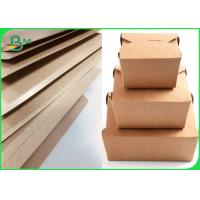 China 440gsm Paper Pe Coated Craft Paper Single Side For Food Packing on sale