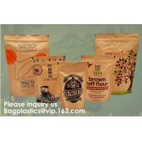 Quality STAND UP POUCHES SPOUT POUCHES SIDE GUSSET BAGS PAPER BAGS 3 SIDE SEAL POUCH BLOCK BOTTOM BAGS JERKY BAGS BIODEGRADABLE wholesale