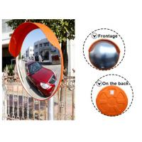 Quality 60cm Traffic Safety Outdoor Plastic Convex Mirror With 130 Degree Viewing Angle wholesale