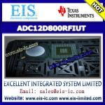 Quality ADC12D800RFIUT - TI (Texas Instruments) - 12-Bit, 1.6/1.0 GSPS RF Sampling ADC - Email: sa wholesale