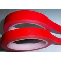 China Heat Reistant Type Silicone Adhesive Crepe Paper Masking Tape Jumbo Roll on sale