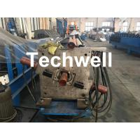 Quality Aluminum Or Galvanized Steel Round Downspout Roll Forming Machine For Making Water Pipe, Rainwater wholesale