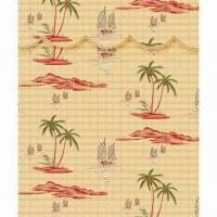 China Printed Roman Blind, Made of Bamboo on sale