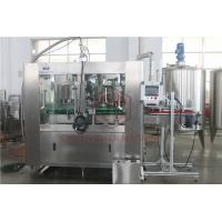 Quality Monoblock Beverage Drink Can Filling Machine Electric Nitrogen Injection wholesale