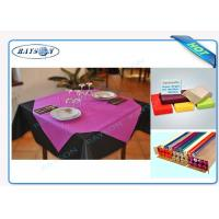 Quality Slices / Rolls Packed Non Woven Polypropylene Tablecloth for Catering Business wholesale