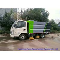 Quality KAMA Mini Road Cleaning Truck With 4 Brushes , Truck Mounted Sweeper wholesale