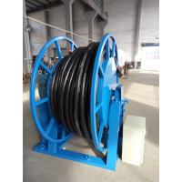 Quality Seaport Crane Motorized Cable Reel , Extension Cable Reel 40nm Max Torque wholesale
