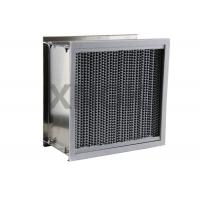 Quality Deep Pleated High Temperature Hepa Filters Washable Bear 200 - 350 ℃ wholesale
