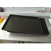 China Black Non Stick Baking Tray Stainless Steel Dakin PTFE Thickness 0.7mm on sale