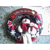 Quality Shopping Center Outdoor Personalised Christmas Decorations Lovely Snowmen wholesale
