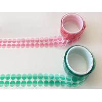 China High Temperature green PET Tape Made with Polyester and Silicone Adhesive for Powder Coating and Masking for sale