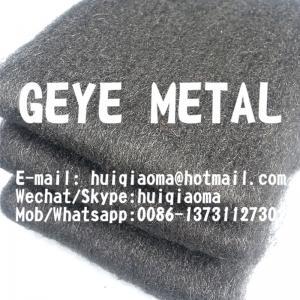China Stainless Steel Wool Fiber Blanket Rolls, Die Cuts, Tubes/ Sleeves for Exhaust, Muffler & Resonator Packing Kits on sale
