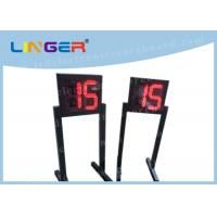 Quality Customized LED Digital Clock / Shot Clock Timer With 1m Height Stand wholesale