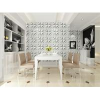 Cheap Ceiling 3D Wall Art PVC Wall Panels Embossed Wall Decals Modern 3D Wall Background for Sofa for sale