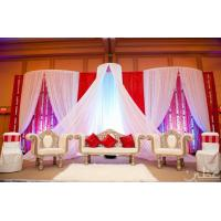 Cheap white drapes for weddings /backdrops pipe and drapes for wedding