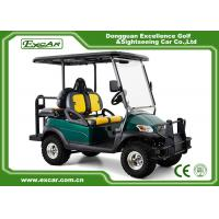 China 3-4 Passenger Electric Hunting Carts With Coil Spring Hydraulic Shock Absorber on sale