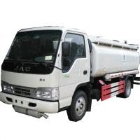Quality Cheaper price 4x2 euro 4 JAC diesel 5000 liters oil tank refueling truck for sale, high quality JAC mini fuel tanker wholesale