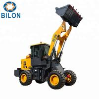Quality High Capacity Loader Wheel Loader Machine 2 Ton Mini Wheel Loader ZL928A CE Certificate wholesale