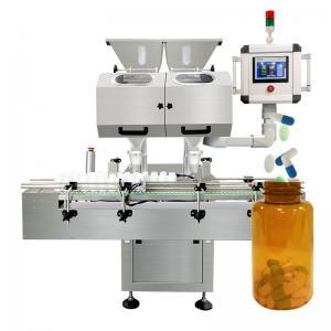 China PLC Pharmaceutical Tablet Counter Machine 200000pcs/H on sale