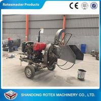 Quality CE Approved Small Output Mobile Diesel Engine Wood Disc Chipper in Forest wholesale
