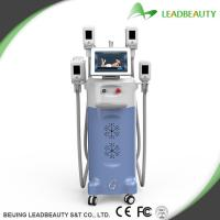 Quality Newest Design 4 handles Cryolipolysis Slimming Machine with CE approval wholesale