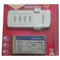 China Radio frequency mini remote control light switch, CE certified on sale