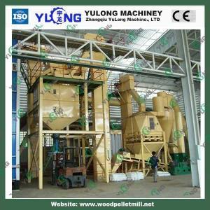 China wood sawdust making machine/sawdust pellet press mill on sale