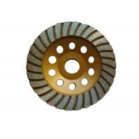 Quality Customized 125mm Grinding Wheel / Concrete Floor Grinding Disc Aggressive Grinding wholesale